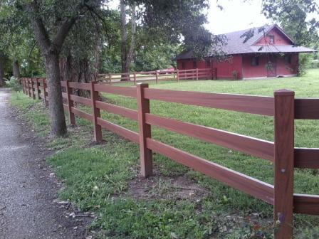 vinyl fencing kansas city recent fence installation